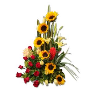 Dulce amor arreglo floral | Flor y vida