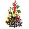 Arreglo floral arcoiris | flor y vida