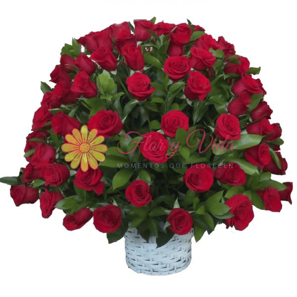 Bendiciones arreglo floral redondo | flor y vida