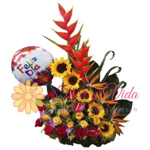 Ramo de cumpleaños | flor y vida