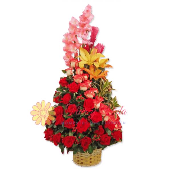 Promesa arreglo floral | flor y vida