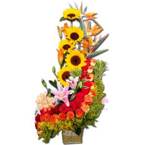 Excelente arreglo floral | flor y vida