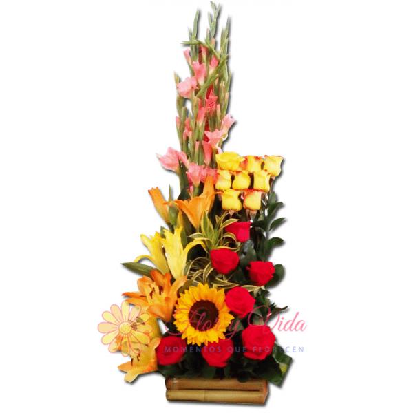 Creativa arreglo floral | flor y vida