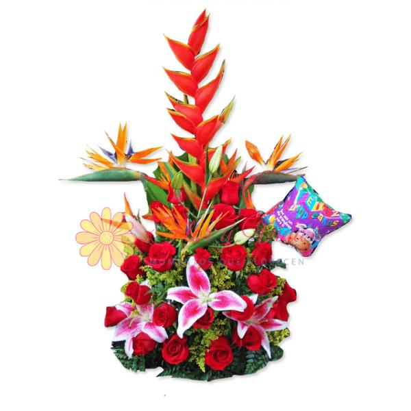 Fidelidad arreglo floral | flor y vida