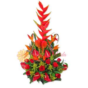Fortuna arreglo floral | flor y vida