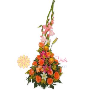 Es tiempo de arreglo floral | flor y vida