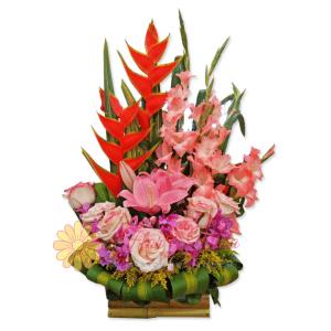 Más que amigos arreglo floral | flor y vida