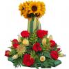 Corazón puro arreglo floral | flor y vida