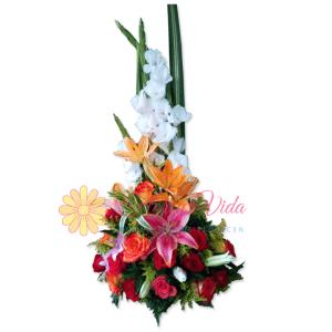 Persiste arreglo floral | flor y vida