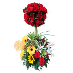 Haslo de nuevo arreglo floral | flor y vida