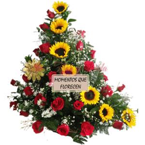 Encanto floral arreglo floral | flor y vida