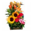 Atardecer arreglo floral | flor y vida