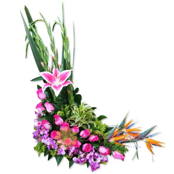 Bonita arreglo floral | flor y vida