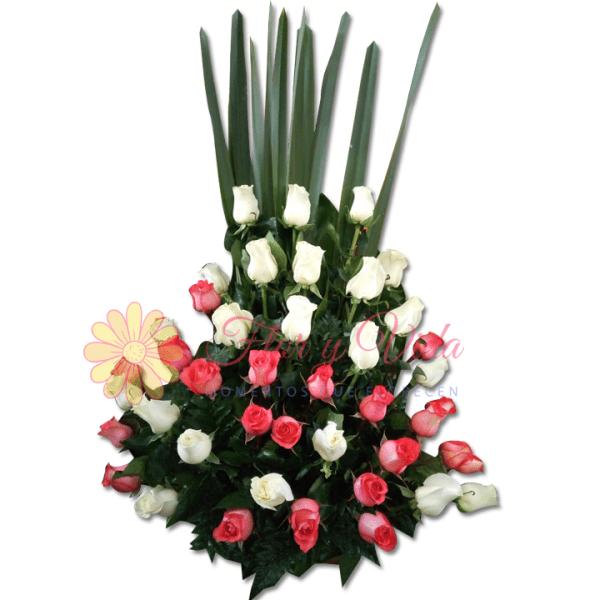 Secreto arreglo floral | Flor y vida
