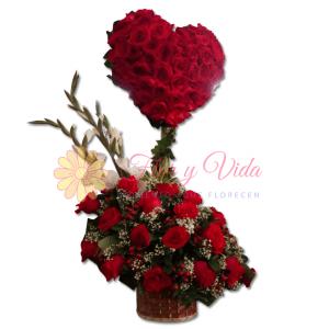 Arreglo floral dulce   flor y vida