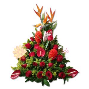 Esmeralda arreglo floral | flor y vida