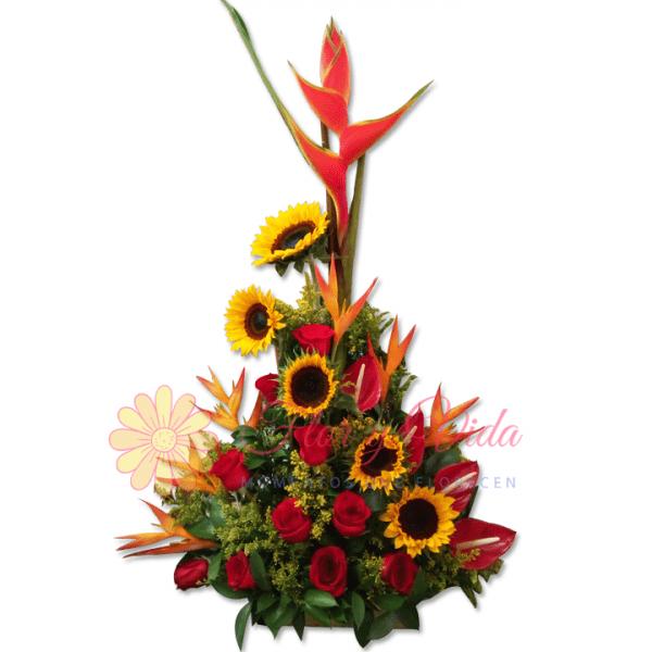 Ambar arreglo floral | flor y vida