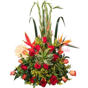Mi Deseo arreglo floral   flor y vida