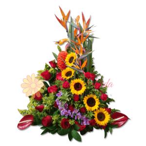 Da gusto arreglo floral   flor y vida