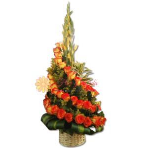 Florece arreglo floral   Flor y vida