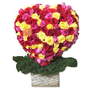Otoño arreglo floral   flor y vida