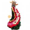 Amor total arreglo floral de 100 rosas | flor y vida
