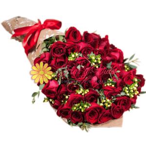 floristerías en cali Bouquet de rosas | Ramo de rosas en cali | flor y vida