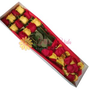 Sorpresa Caja de Rosas en cali | Flor y vida