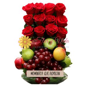 Sigue luchando frutero |flor y vida