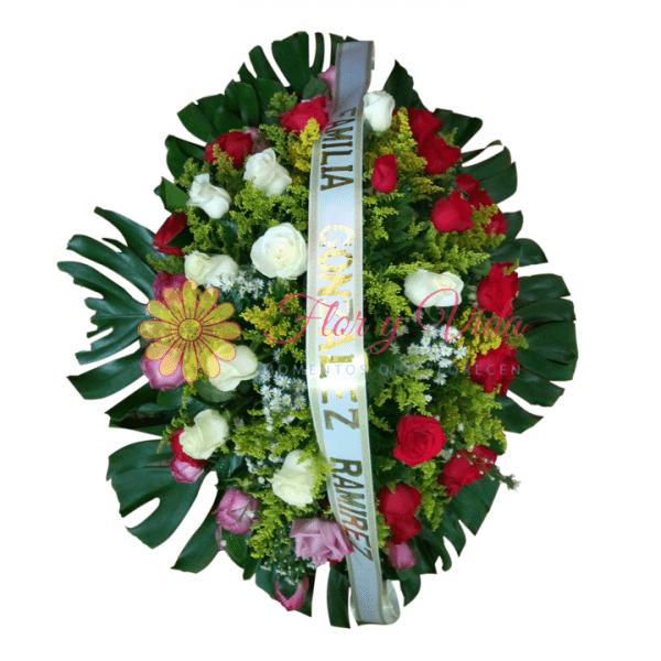 Corona fúnebre de piso en cali