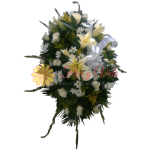 Libertad Corona Fúnebre | flor y vida