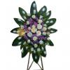 Corona fúnebre de trípode en cali
