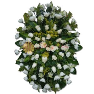 Regresa Corona fúnebre | Flor y vida