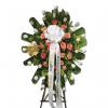 Descanso Corona fúnebre de trípode en cali