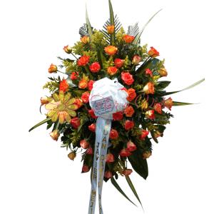 Fúnebre solidaridad | flor y vida