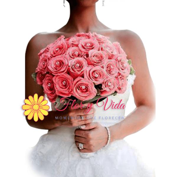 Historia Bouquets de novia en cali   flor y vida