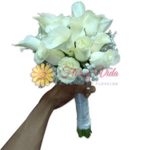 Inolvidable Bouquet de novia |flor y vida