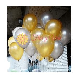 Globo en helio Metalizado | flor y vida