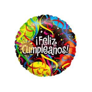 Globo metalizado en cali feliz cumpleaños | flor y vida