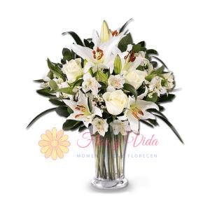 Por ti florero | flor y vida