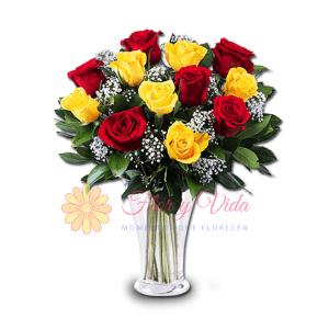 Felicidades HBD! Florero | flor y vida