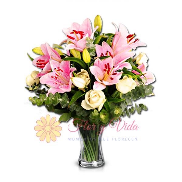 Corre florero | flor y vida