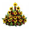 floristerías en cali Arreglo floral de girasoles